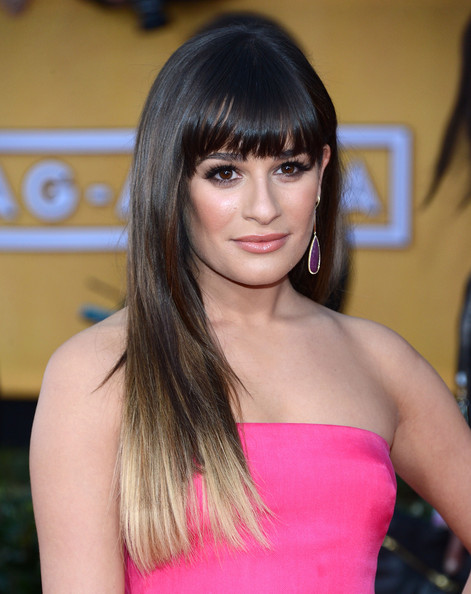 Actress Lea Michele attends the 19th Annual Screen Actors Guild Awards at The Shrine Auditorium on January 27, 2013 in Los Angeles, California.
