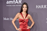 Model Sofia Resing attends the 19th Annual amfAR New York Gala at Cipriani Wall Street on February 8, 2017 in New York City.