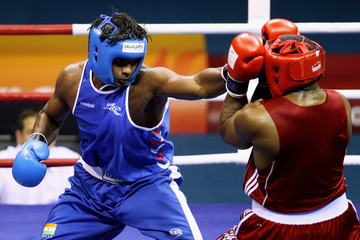 Paramjeet Samota 19th Commonwealth Games - Day 10: Boxing