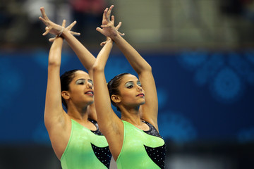 Bijal Vasant 19th Commonwealth Games - Day 3: Synchronised Swimming