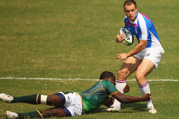 Hefin O'Hare 19th Commonwealth Games - Day 9: Rugby 7's