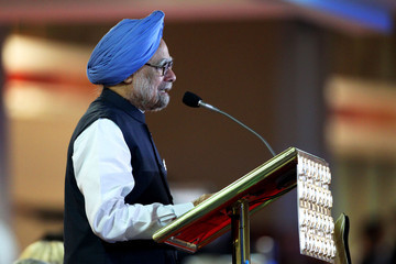 Dr Manmohan Singh 19th Commonwealth Games - Opening Ceremony