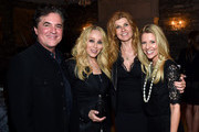 (L-R) President and CEO of the Big Machine Label Group Scott Borchetta, Senior Vice President of Creative at Big Machine Label Group Sandi Spika Borchetta, actress Connie Britton, and Tracie Hamilton of J/P Haitian Relief Organization attend the 1st Annual Nashville Shines for Haiti concert benefiting J/P Haitian Relief Organization - Day 2 hosted by Johnathon Arndt and Newman Arndt on April 27, 2016 in Nashville, Tennessee.