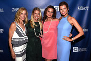Singer-songwriter Sheryl Crow, Tracie Hamilton of J/P HRO, and actors Kimberly Williams-Paisley and Susan Yeagley attend the 1st Annual Nashville Shines for Haiti concert benefiting J/P Haitian Relief Organization - Day 1 on April 26, 2016 in Nashville, Tennessee.
