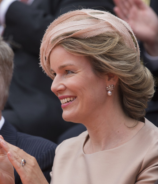 Queen Mathilde of Belgium attends celebrations marking the 200th anniversary of the kingdom of The Netherlandson August 30, 2014 in Maastricht, The Netherlands.