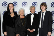 Mary Richardson Kennedy, Marion Wiesel, Elie Wiesel and Conor Kennedy attend the 2009 Annual Food Allergy Ball at The Waldorf Astoria on December 7, 2009 in New York City.