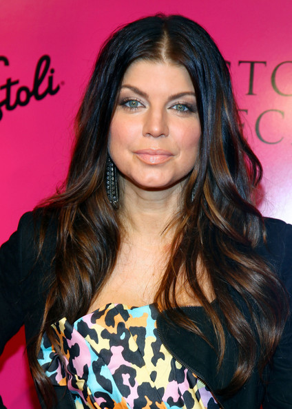 Singer Fergie attends the Victoria's Secret fashion show after party at M2 Ultra Lounge on November 19, 2009 in New York City.