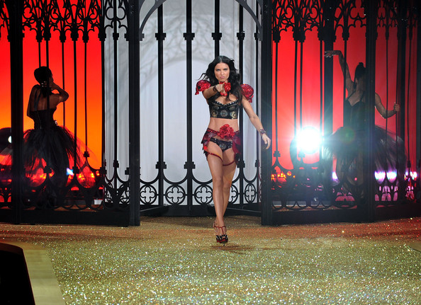 adriana lima victoria secret runway. Model Adriana Lima walks the