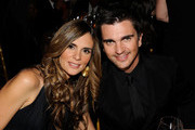*EXCLUSIVE* Karen Martinez (L) and musician Juanes attend the 2010 AFTRA AMEE Awards at The Grand Ballroom at The Plaza Hotel on February 22, 2010 in New York City.