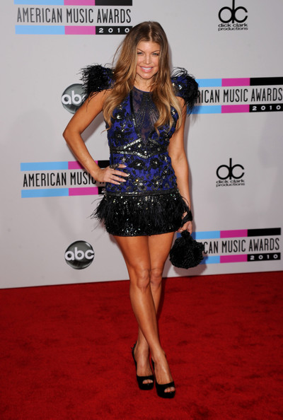 Singer Fergie arrives at the 2010 American Music Awards held at Nokia Theatre L.A. Live on November 21, 2010 in Los Angeles, California.