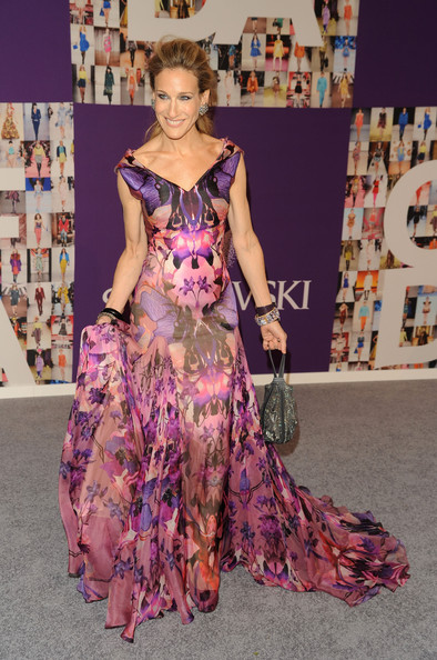 Sarah Jessica Parker attends the 2010 CFDA Fashion Awards at Alice Tully Hall at Lincoln Center on June 7, 2010 in New York City.