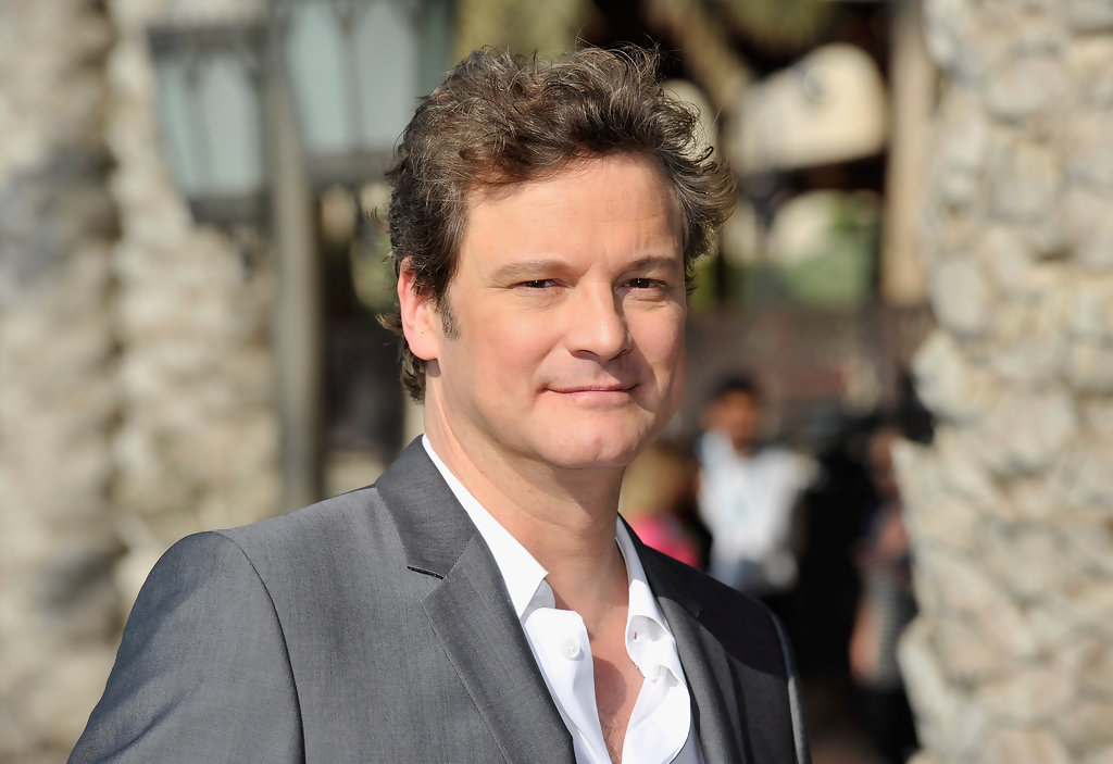 Colin Firth To Get a S...