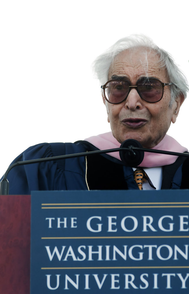 dave brubeck in 2010 george washington university commencement zimbio. Black Bedroom Furniture Sets. Home Design Ideas