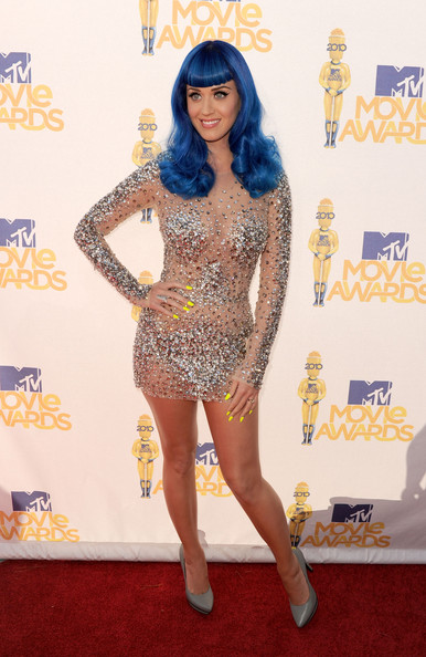 Katy+Perry in 2010 MTV Movie Awards - Arrivals