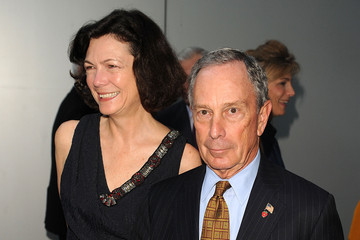 Michael Bloomberg Diana Taylor 2010 MoMA Party In The Garden Benefit Honoring Ronald And Jo Carole Lauder