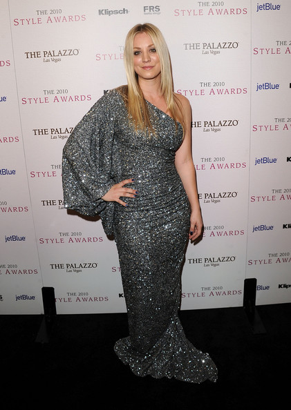 Actress Kaley Cuoco arrives at the 2010 Hollywood Style Awards at the Hammer Museum on December 12, 2010 in Westwood, California.