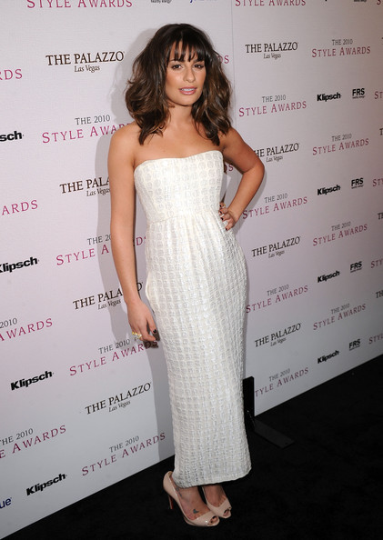 Actress Lea Michele arrives at the 2010 Hollywood Style Awards at the Hammer Museum on December 12, 2010 in Westwood, California.