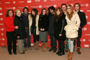 "(2nd - 4th from left) Actor José María de Tavira, director Zeina Durra, actress Élodie Bouchez and cast attends the ""The Imperialists Are Still Alive"" premiere during the 2010 Sundance Film Festival at Eccles Center Theatre on January 25, 2010 in Park City, Utah."