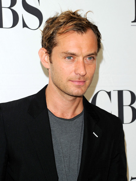 Actor Jude Law attends the 2010 Tony