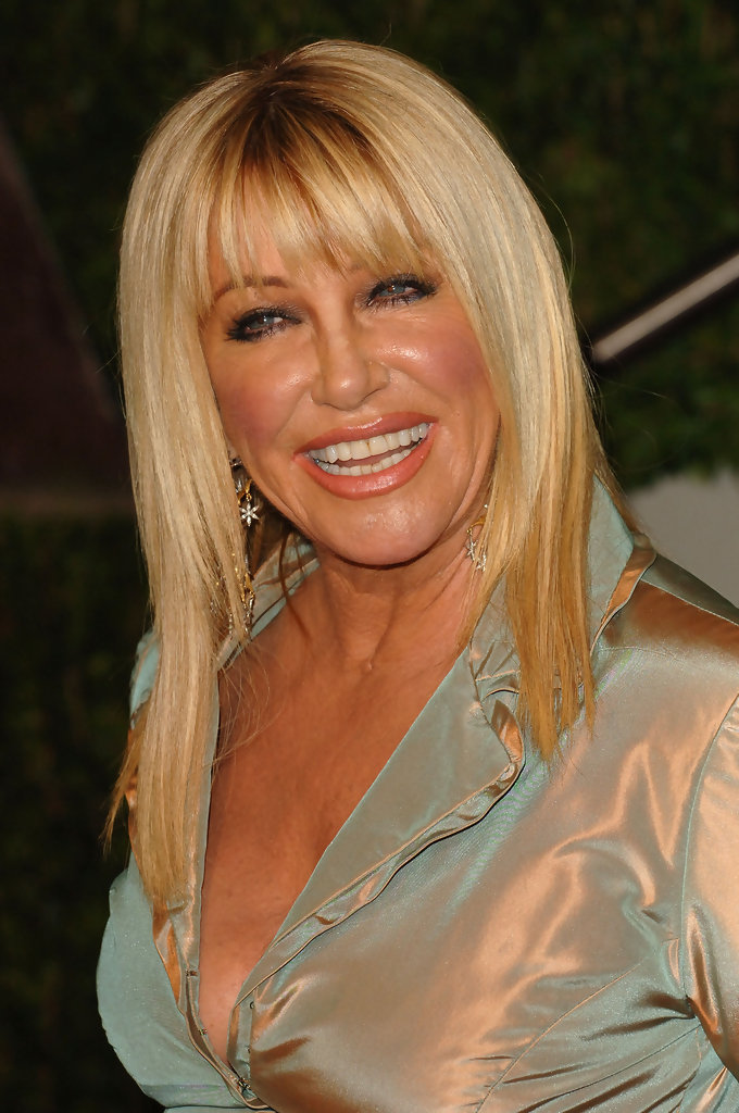 Suzanne Somers in 2010 Vanity Fair Oscar Party Hosted By