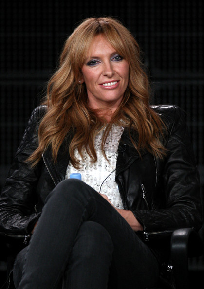 Toni Collette Actress Toni Collette speaks onstage at the Showtime