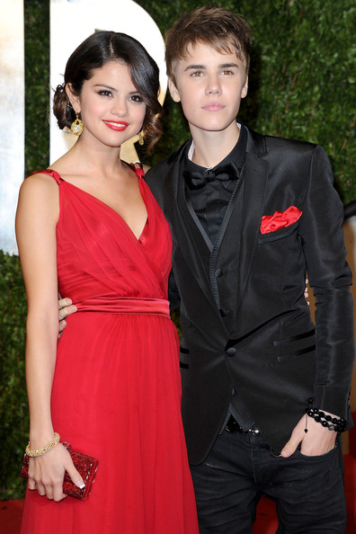 justin bieber and selena gomez oscars vanity fair. 2011 Vanity Fair Oscar Party