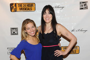 Actresses Savannah Wise and Dee Roscioli attend the after party following the 2011 24 Hour Musicals at The National Arts Club on March 7, 2011 in New York City.