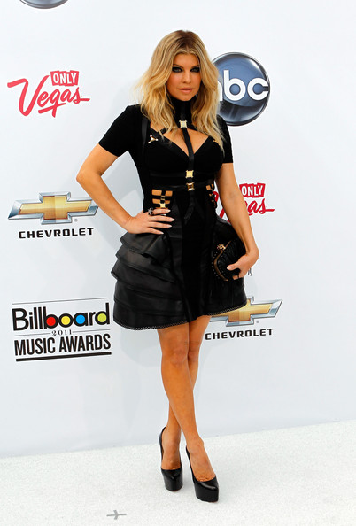 Singer Fergie of the Black Eyed Peas arrives at the 2011 Billboard Music Awards at the MGM Grand Garden Arena May 22, 2011 in Las Vegas, Nevada.