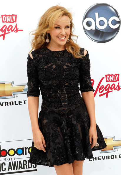 Singer Kylie Minogue arrives at the 2011 Billboard Music Awards at the MGM Grand Garden Arena May 22, 2011 in Las Vegas, Nevada.