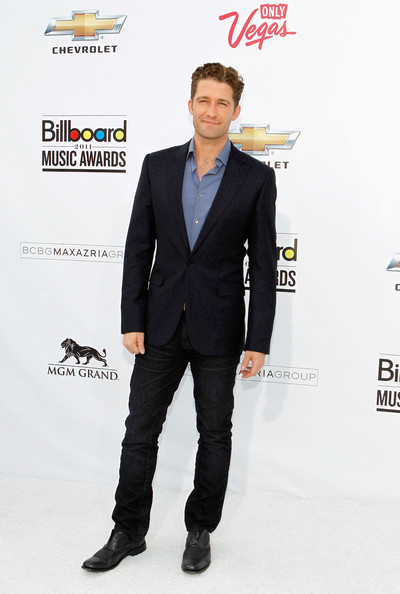 Actor/singer Matthew Morrison arrives at the 2011 Billboard Music Awards at the MGM Grand Garden Arena May 22, 2011 in Las Vegas, Nevada.
