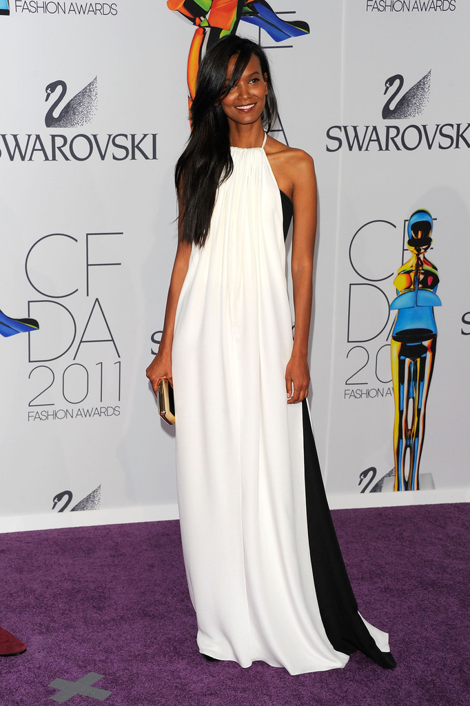 Model Liya Kebede attends the 2011 CFDA Fashion Awards at Alice Tully Hall, Lincoln Center on June 6, 2011 in New York City.