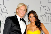 David Meister and Emmanuelle Chriqui attend the 2011 CFDA Fashion Awards at Alice Tully Hall, Lincoln Center on June 6, 2011 in New York City.
