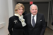 Agnes Gund and David Rockefeller Photos Photo