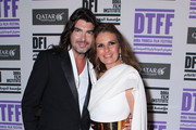 Designer Stephane Rolland and actress Yosra attend the Opening Night After Party at the Intercontinental Hotel during day 1 of the 2011 Doha Tribeca Film Festival  on October 25, 2011 in Doha, Qatar.