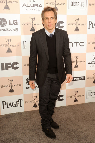 Actor Ben Stiller arrives at the 2011 Film Independent Spirit Awards at Santa Monica Beach on February 26, 2011 in Santa Monica, California.