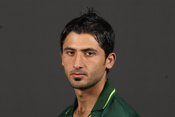 Mohammad Junaid Khan 2011 ICC World Cup - Pakistan Portrait Session