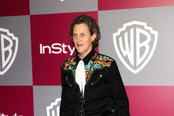 Temple Grandin 2011 InStyle/Warner Brothers Golden Globes Party - Arrivals