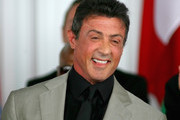 Sylvester Stallonelaughs  during the 2011 International Boxing Hall of Fame Inductions at the International Boxing Hall of Fame on June 12, 2011 in Canastota, New York. Stallone was a 2011 inductee.