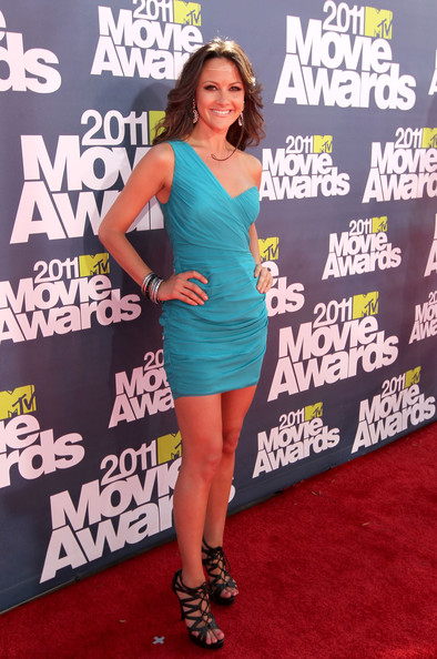 Christina McLarty arrives at the 2011 MTV Movie Awards at Universal Studios' Gibson Amphitheatre on June 5, 2011 in Universal City, California.