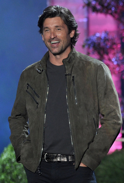 Actor Patrick Dempsey speaks onstage during the 2011 MTV Movie Awards at Universal Studios' Gibson Amphitheatre on June 5, 2011 in Universal City, California.