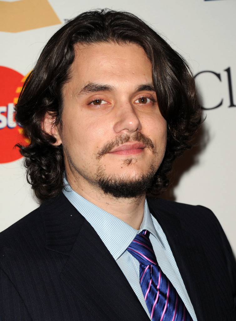 John mayer in 2011 pre grammy gala salute to industry for Geffen pictures