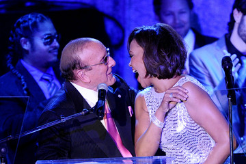 Whitney Houston Clive Davis 2011 Pre-GRAMMY Gala & Salute To Industry Icons Honoring David Geffen - Show