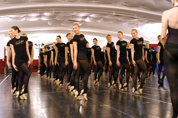 Radio City Rockettes 2011 Radio City Christmas Spectacular Rehearsals