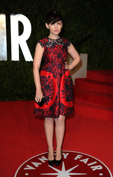 Actress Ginnifer Goodwin arrives at the Vanity Fair Oscar party hosted by Graydon Carter held at Sunset Tower on February 27, 2011 in West Hollywood, California.