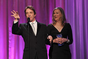 Martin Short and Catherine O'Hara on stage at the 2011 Writers Guild Awards at Renaissance Hollywood Hotel on February 5, 2011 in Hollywood, California.