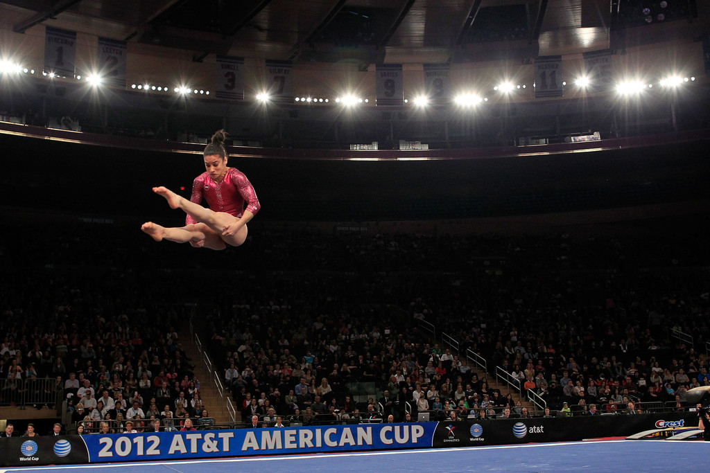 Aly Raisman Photos 2012 At Amp T American Cup 1589 Of 1643