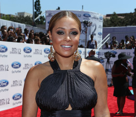 Tamia Marilyn Hill 2012 BET Awards - Red Carpet