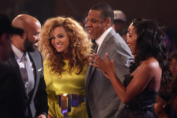 Jay-Z Beyonce Knowles 2012 BET Awards - Show