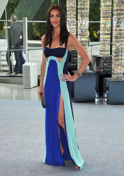 Model Hilary Rhoda attends the 2012 CFDA Fashion Awards at Alice Tully Hall on June 4, 2012 in New York City.