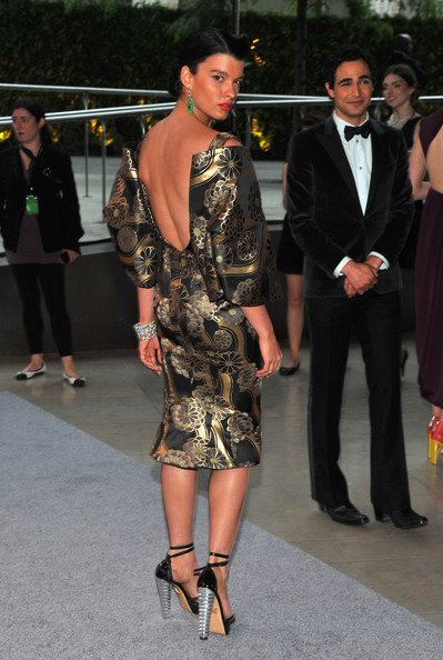 Model Crystal Renn attends the 2012 CFDA Fashion Awards at Alice Tully Hall on June 4, 2012 in New York City.